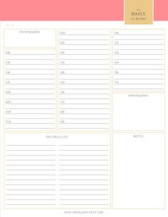 Daily Planner 15 Minute Increments Free - Calendar June