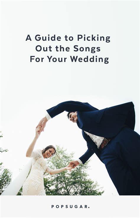 Wedding Music Guide   POPSUGAR Celebrity UK