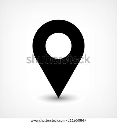 Buy and sell royalty free vector illustrations eps files art stock microstock graphic images: map pins sign location icon vector eps