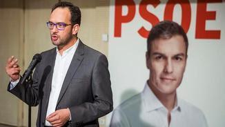 Antonio Hernando recorda qui mana al PSOE (EFE)