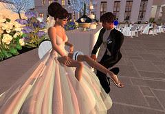 Thorne-Darwin Wedding - Garter
