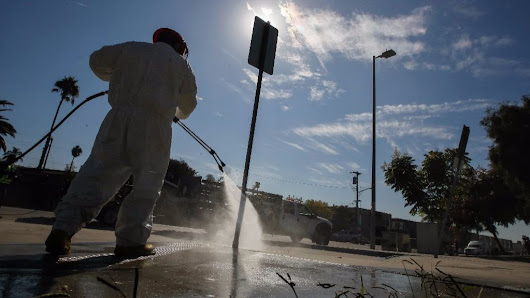 Power-washing is a dirty job, but could help contain hepatitis A outbreak - The San Diego Union-Tribune