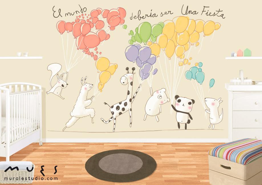Muralestudio Murales Infantiles Dulces Paredes