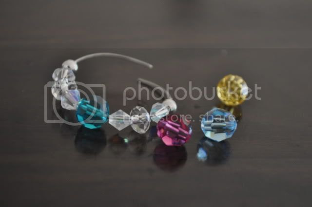 Swarovski Crystal Wine Glass Charms