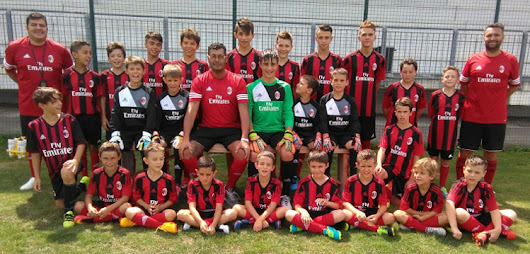 Ad Arona al via il Milan Junior Camp!