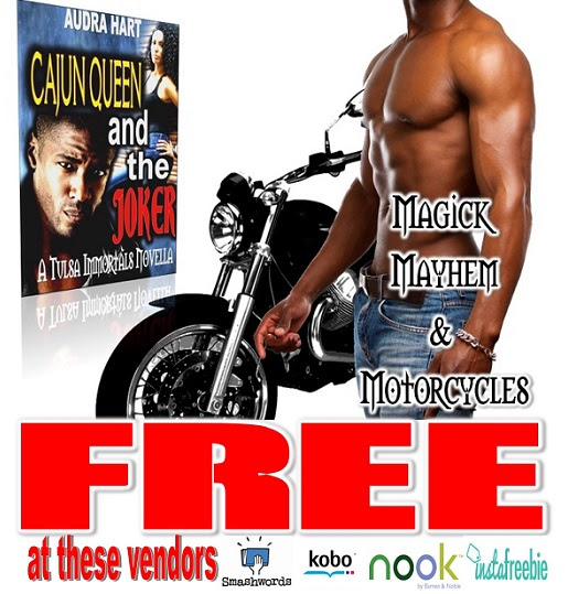 First Book of the TULSA IMMORTALS series is FREE at many vendors.