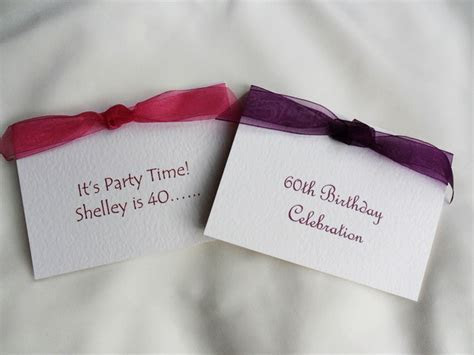 Personalised Birthday Invitations, Personalised Party