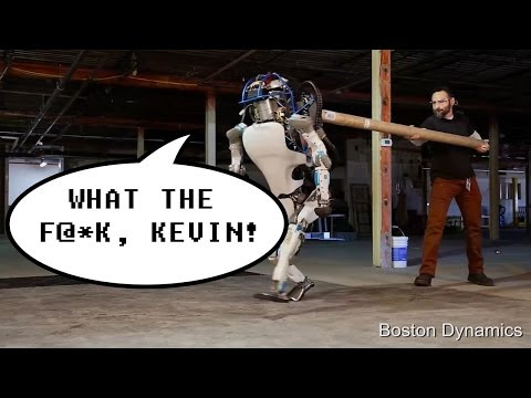 Boston Dynamics tests new swearing robot