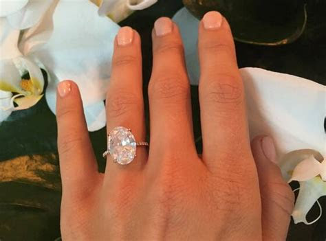 Julianne Hough Shares Close Ups of Her Flawless Engagement