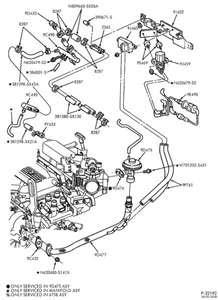 2001 Ford Taurus Vacuum Hose Diagram - Hanenhuusholli