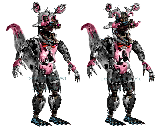 Image: Nightmare Funtime Foxy by Dangerdude991 on DeviantArt
