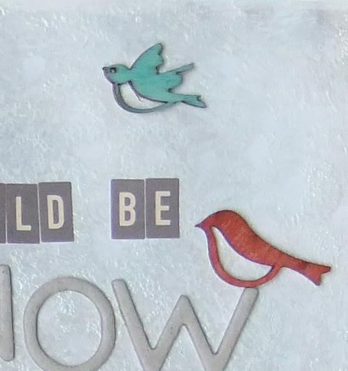 Snow White LO Bird Close up