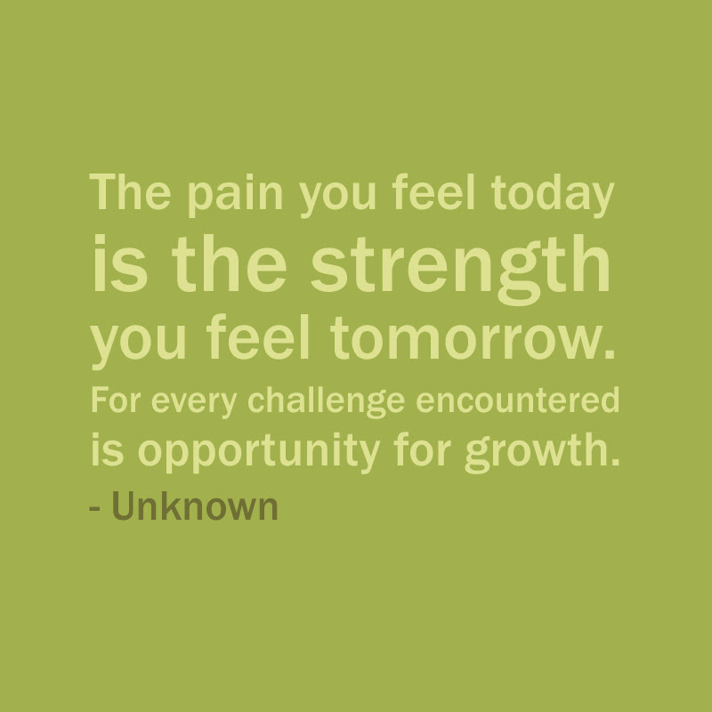 Quotes About Growth And Pain 39 Quotes