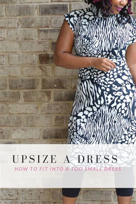 Upsize A Too Small Dress   DIY (do it yourself)   Dress