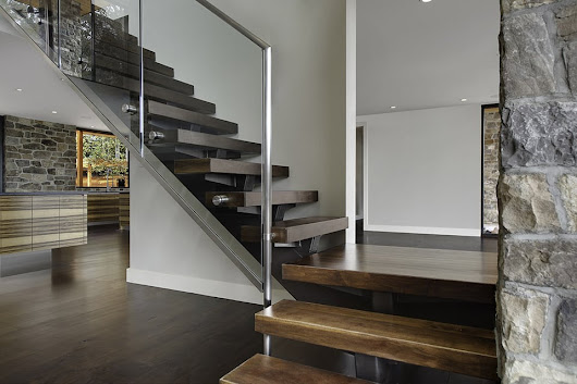 Open Riser Stairs | Open Staircase Designs | Southern Staircase