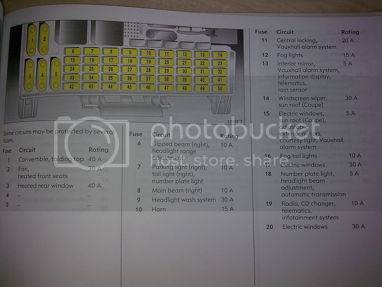 Corsa D Wiring Diagram