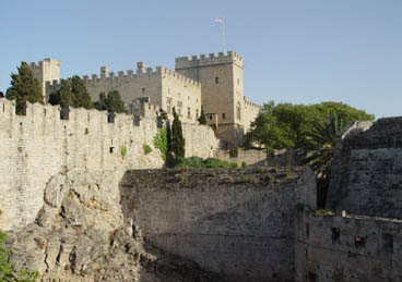 The Knights' castle at Rhodes