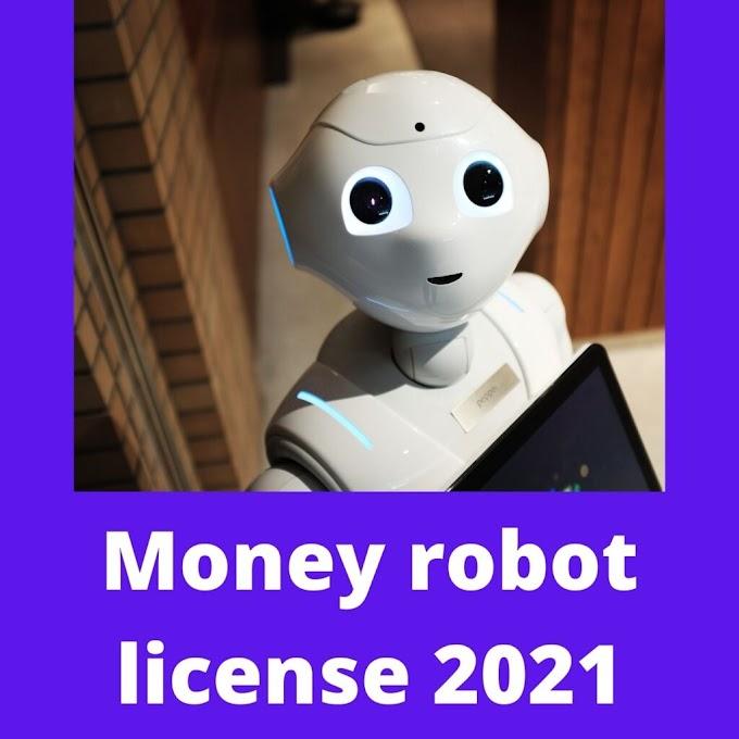 Money robot license