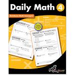Creative Teaching Press CTP8190 Daily Math Workbook Grade 4
