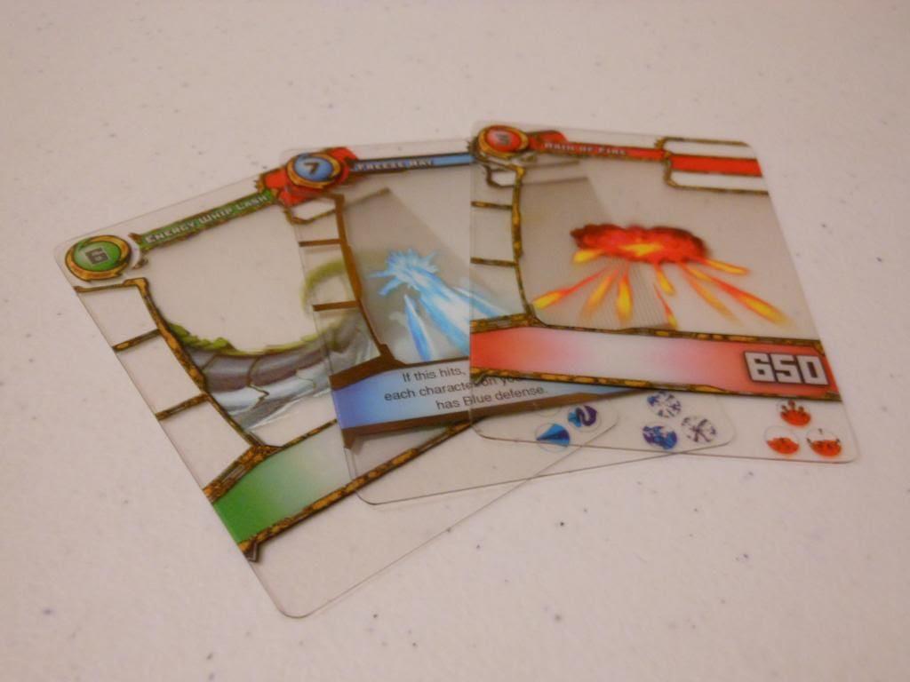 Redakai attack cards