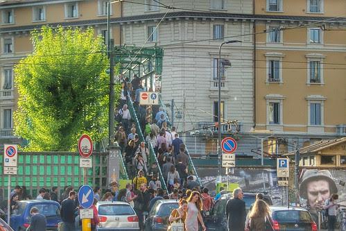 Il ponte di #ZonaTortona è già #Fuorisalone by Ylbert Durishti