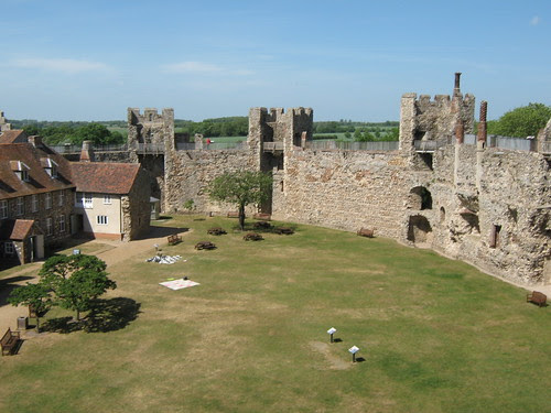 Castle from Gatehouse