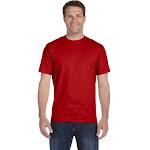 Hanes Beefy-T Tall T-Shirt-DEEP RED-LT