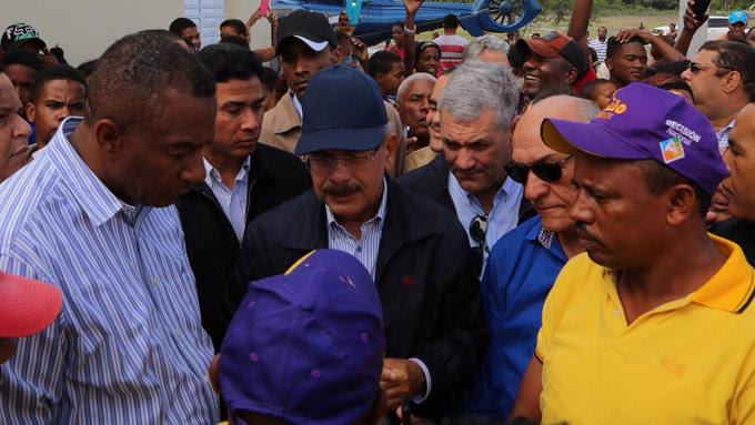 El Presidente dispone ayuda para comunidades afectadas
