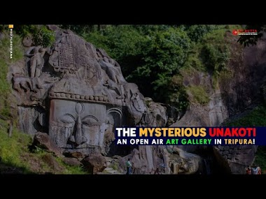 THE MYSTERIOUS UNAKOTI: AN OPEN AIR ART GALLERY IN TRIPURA!