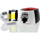 Badgy 100 Color Dye-Sublimation/Thermal Transfer ID Card Printer