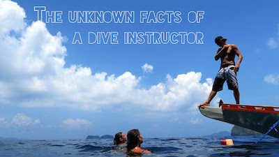 The unknown facts of being a dive instructor