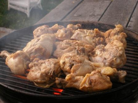 Jan's Chicken on the Grill