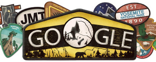 Yosemite National Park Gets A Google Logo To Mark Its 123rd Birthday