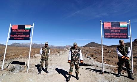 Bumla pass at the India-China border in Arunachal Pradesh