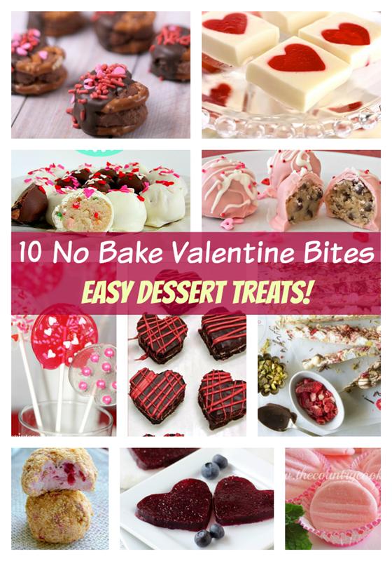 10 Easy No Bake Valentine Desserts Deja Vue Designs