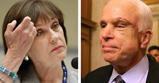 Lois Lerner Case Explodes: IRS Docs Link McCain's Office to Tea Party Attacks