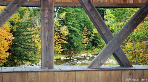View From Inside the Jackson Covered Bridge
