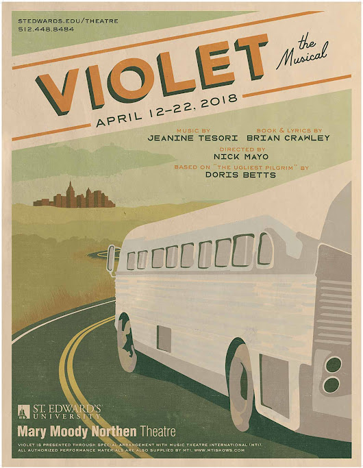 Mary Moody Northen Theatre Presents Violet | St. Edward's University in Austin, Texas