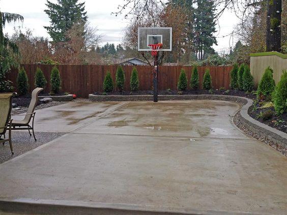 backyard basketball court ideas 20