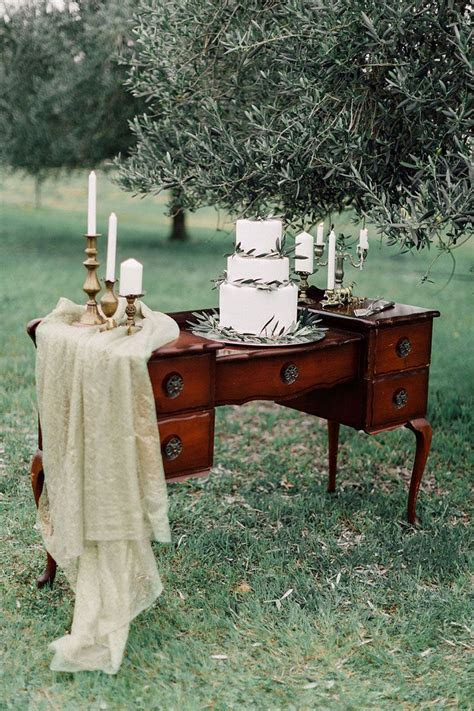 Romantic Bohemian Wedding Inspiration   Vintage dressers