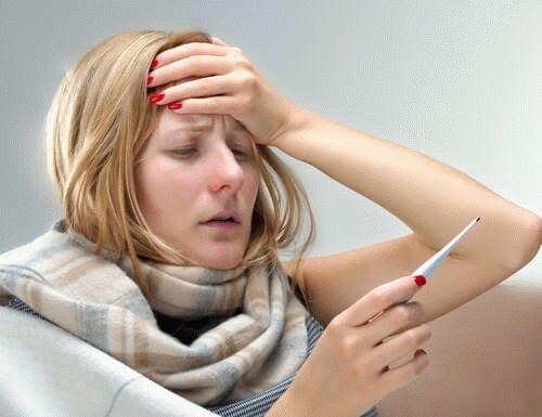 Картинки по запросу женщина с температурой