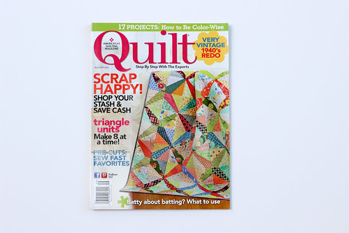 Quilt Magazine - August/September Issue by Jeni Baker