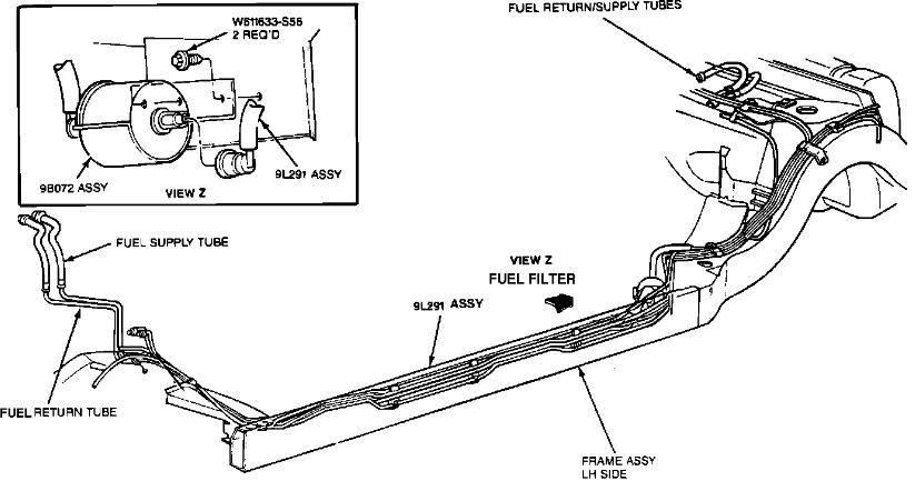 2009 Lincoln Mkz Fuel Filter Location - Wiring Diagram Schemas