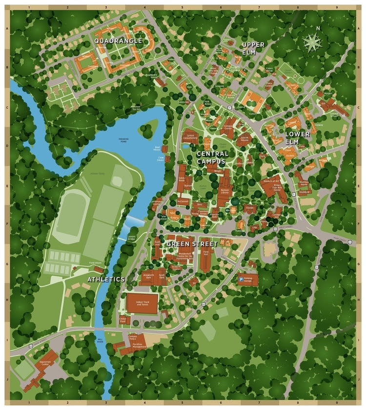 Smith College Map Smith College Map | Bedroom 2018