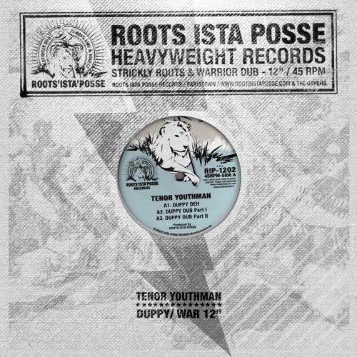 "Roots Ista Posse Feat Tenor Youthman - Duppy Deh / War Inna East - 12"" by Roots Ista Posse"