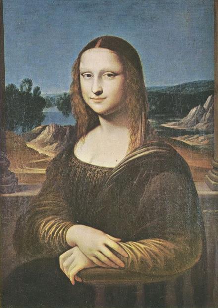 Philippe de Champaigne Mona Lisa (copy), Oslo.