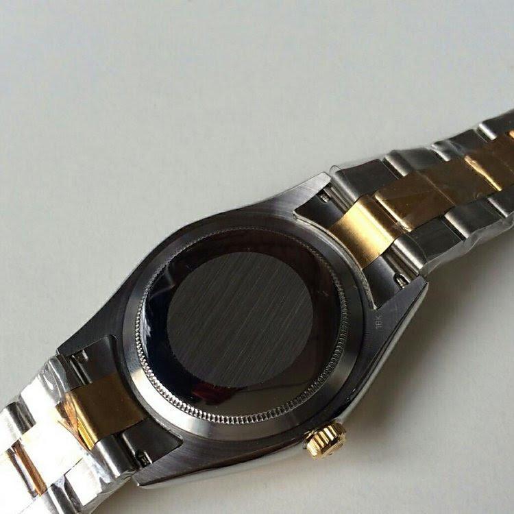 Replica Rolex Datejust Solid Caseback