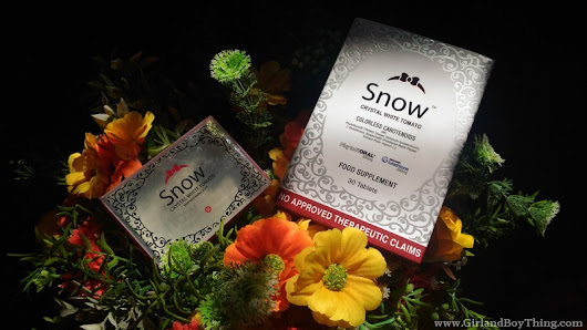 Protect Your Skin With Snow Crystal White Tomato | GirlandBoyThing.com