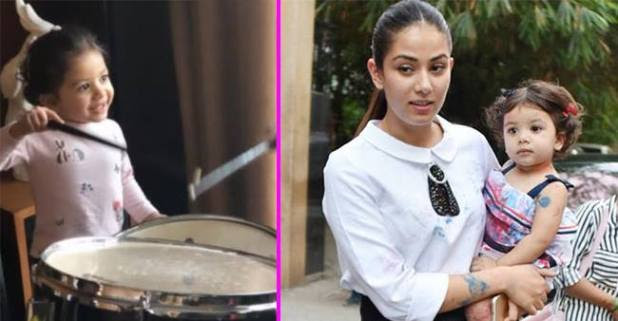 Shahid Kapoor's Little Princess Is Playing A Drum, Mira Shares The Picture