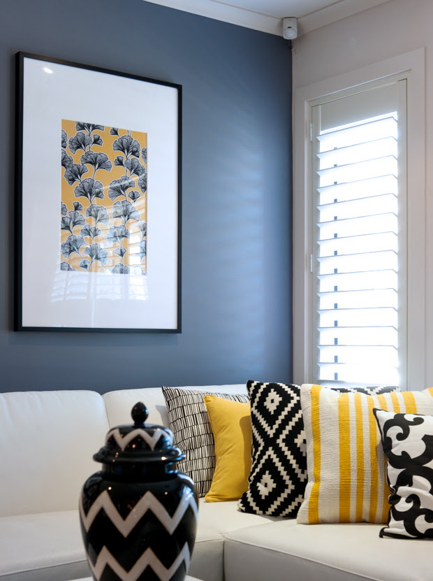 Home Living Blog 48 Black And Yellow Room Pictures